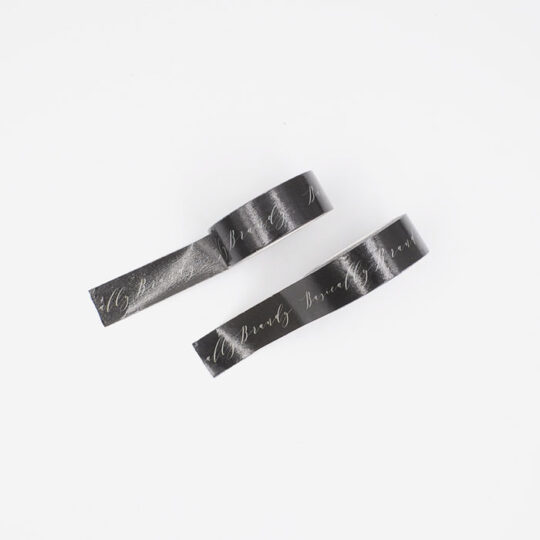 washi tape black