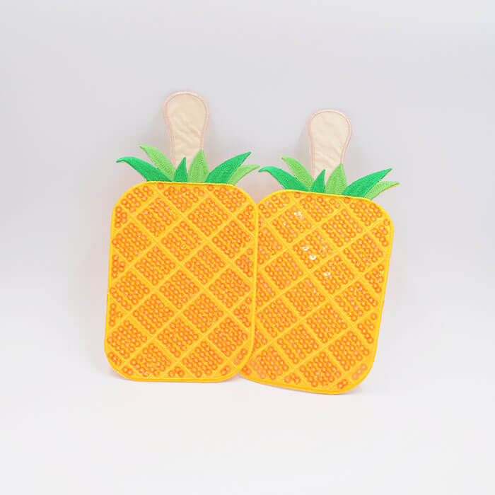 SEQUINS patches pinapple