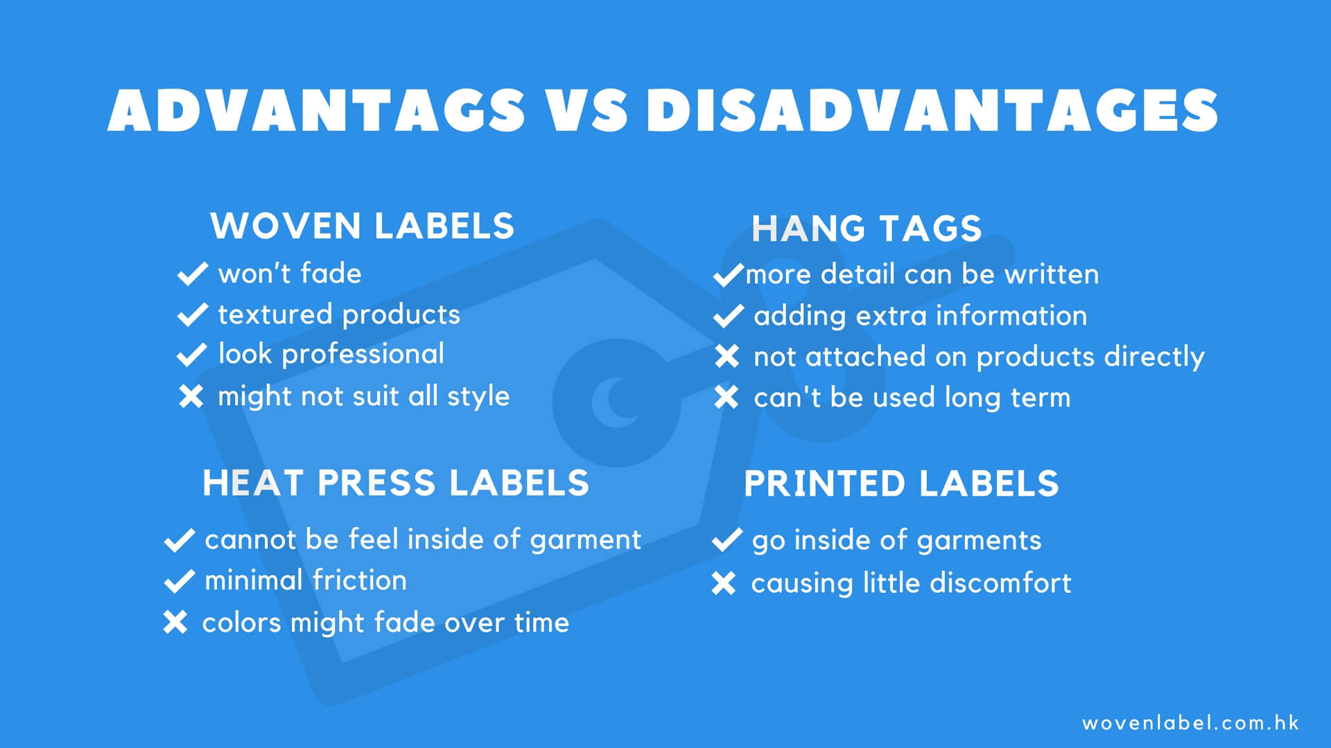 Advantages And Disadvantages Of Different Types Of Labels