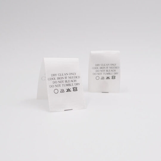 satin center fold printed labels 2