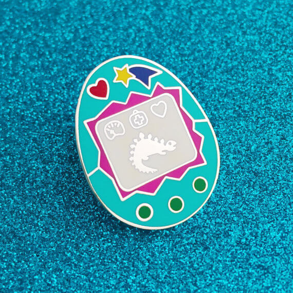 Virtual Pet pin by Fairy Cakes