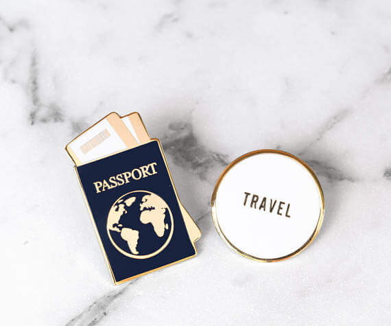 Traveler Pins by Lenses and Locals
